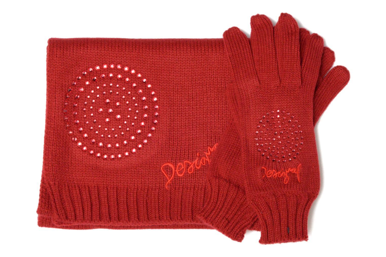 Sonstiges Desigual Coffret foulard/gants rot schuhe getragen