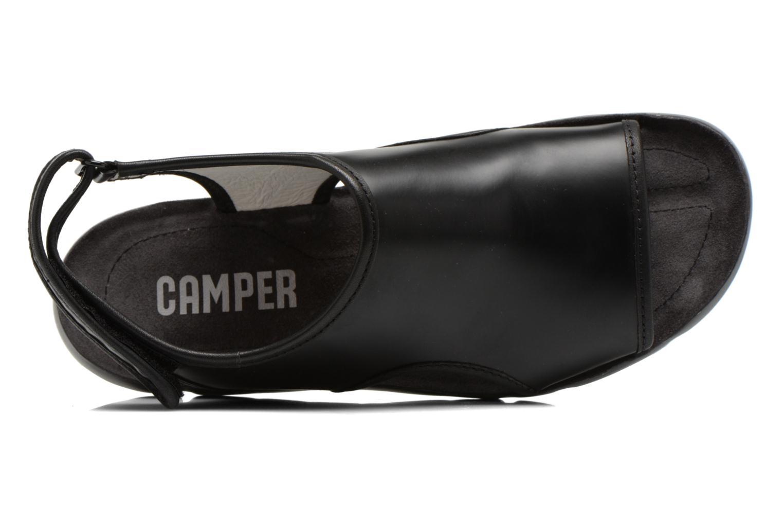 Sandalias Camper Oruga 22541 Negro vista lateral izquierda