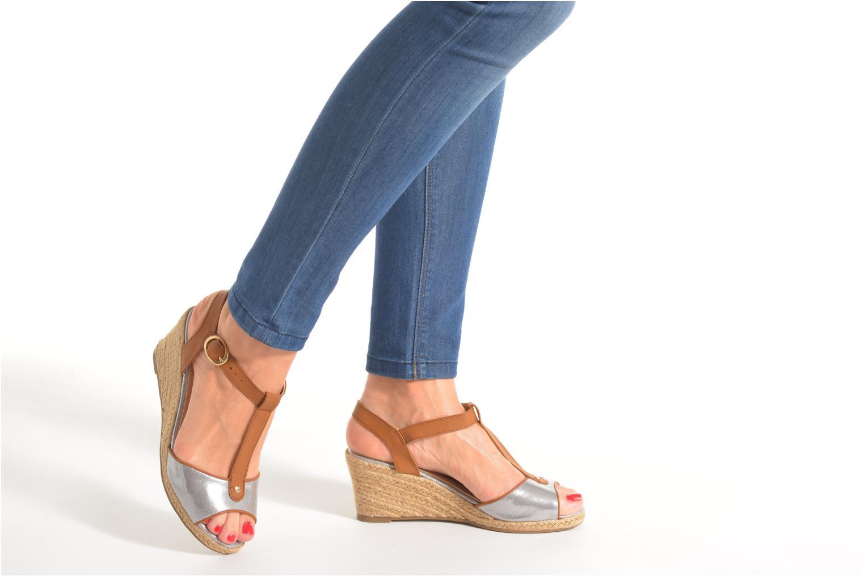 Sandales et nu-pieds Refresh Palino-60523 Argent vue bas / vue portée sac