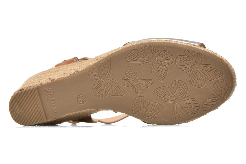 Sandales et nu-pieds Refresh Palino-60523 Argent vue haut