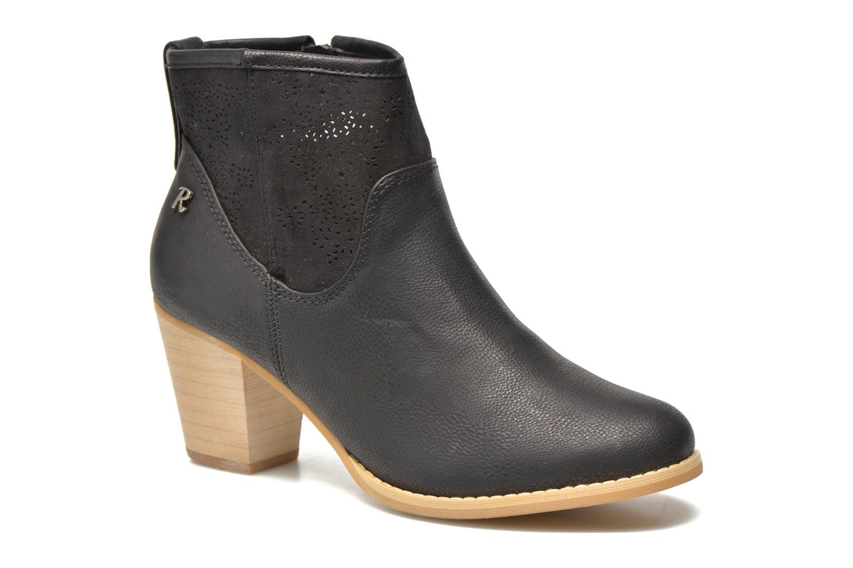 Bottines et boots Refresh Omalia-61706 Noir vue détail/paire