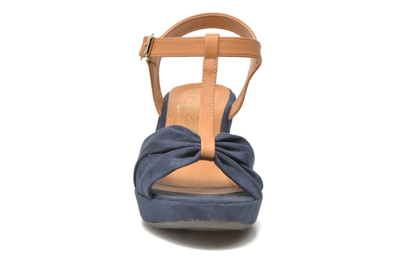 Sandales et nu-pieds Refresh Cassida-61790 Bleu vue portées chaussures