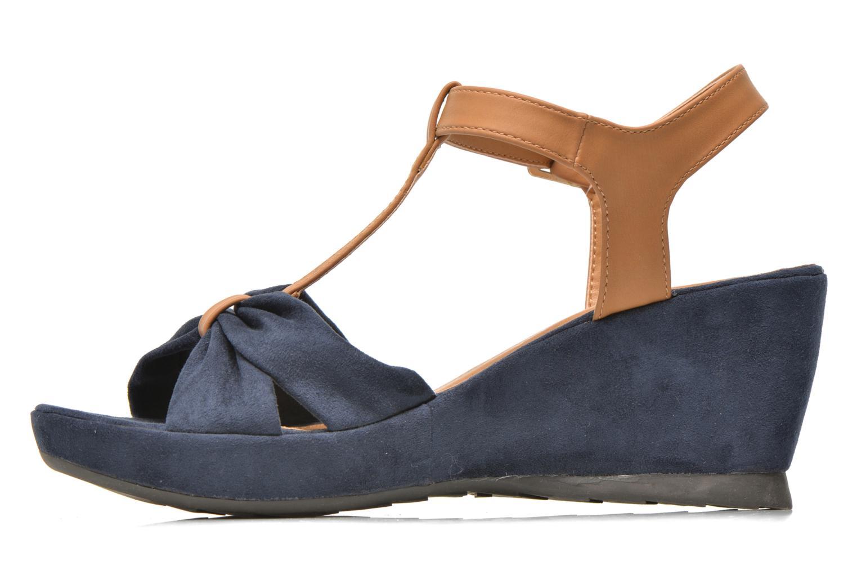 Sandales et nu-pieds Refresh Cassida-61790 Bleu vue face