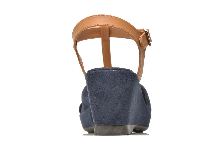 Sandales et nu-pieds Refresh Cassida-61790 Bleu vue droite