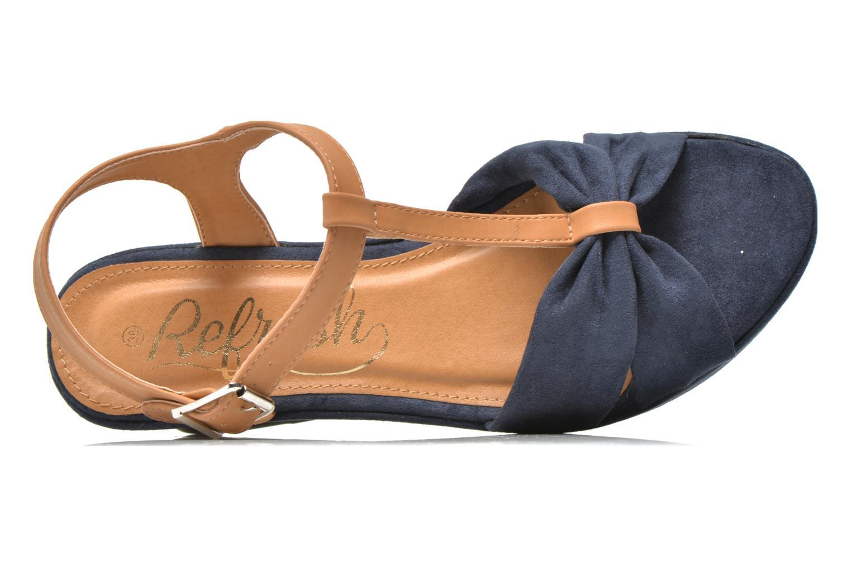 Sandales et nu-pieds Refresh Cassida-61790 Bleu vue gauche