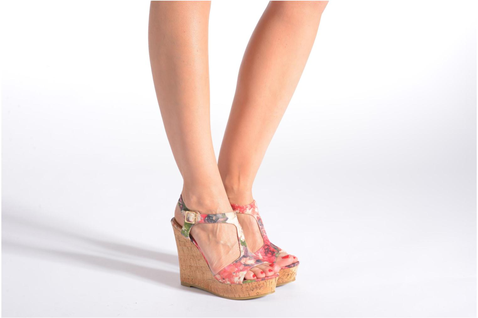 Sandals Refresh Yalta-61830 Multicolor view from underneath / model view