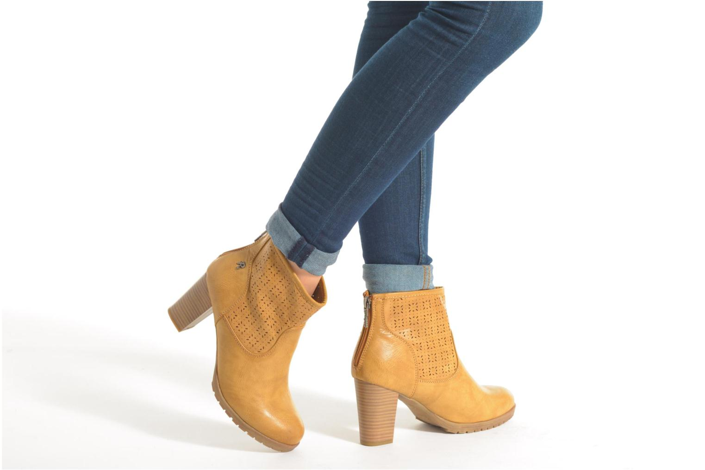 Bottines et boots Refresh Gotiba-61982 Beige vue bas / vue portée sac
