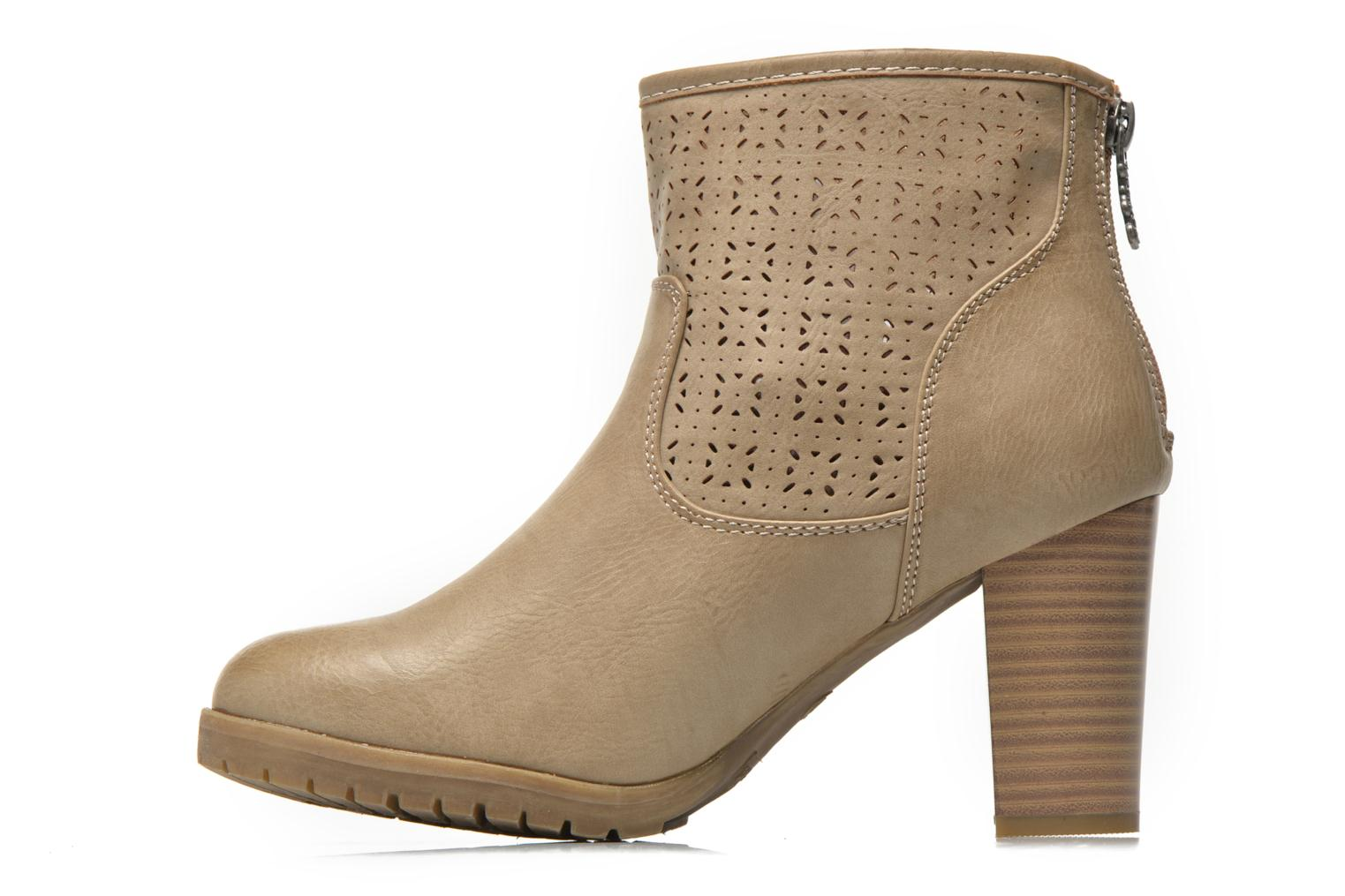 Bottines et boots Refresh Gotiba-61982 Beige vue face