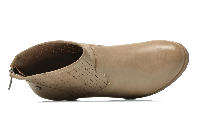Bottines et boots Refresh Gotiba-61982 Beige vue gauche