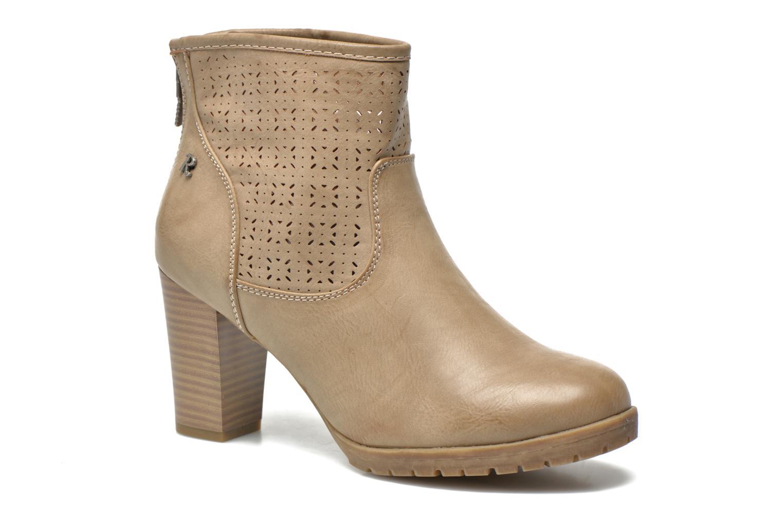 Bottines et boots Refresh Gotiba-61982 Beige vue détail/paire
