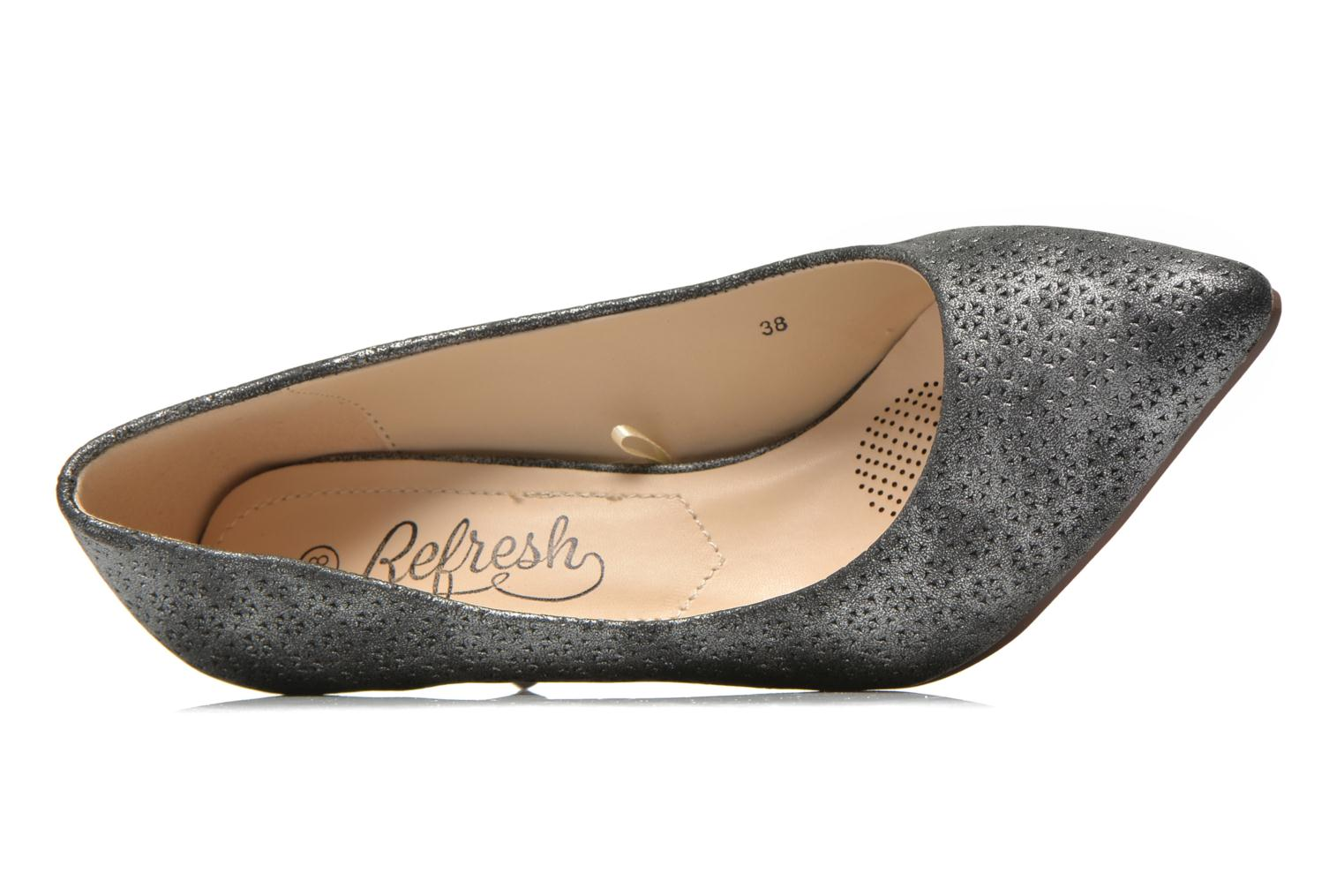High heels Refresh Inidia-62055 Black view from the left