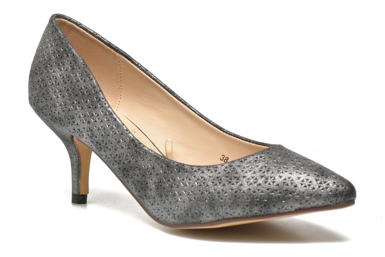 High heels Refresh Inidia-62055 Black detailed view/ Pair view