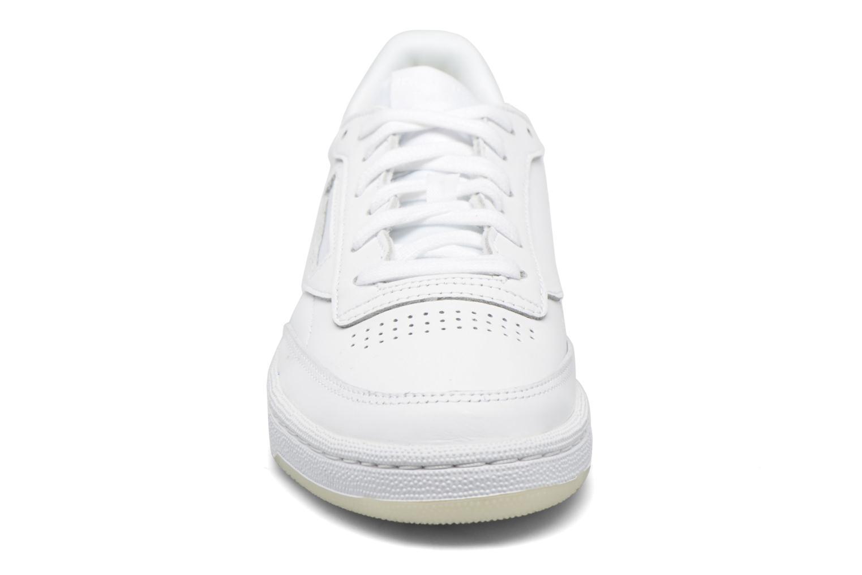 Baskets Reebok Club C 85 Face Vert vue portées chaussures