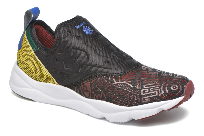 Sneaker Reebok Furylite Slip On Afr schwarz detaillierte ansicht/modell