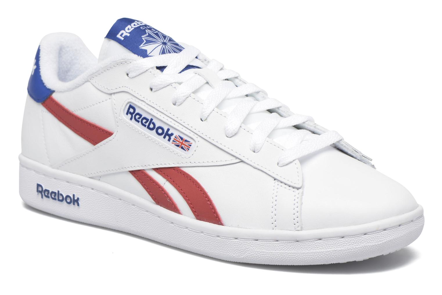 Baskets Reebok Npc Uk Retro Blanc vue détail/paire