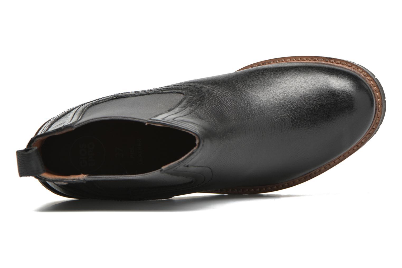 Bottines et boots Gioseppo Izard Noir vue gauche