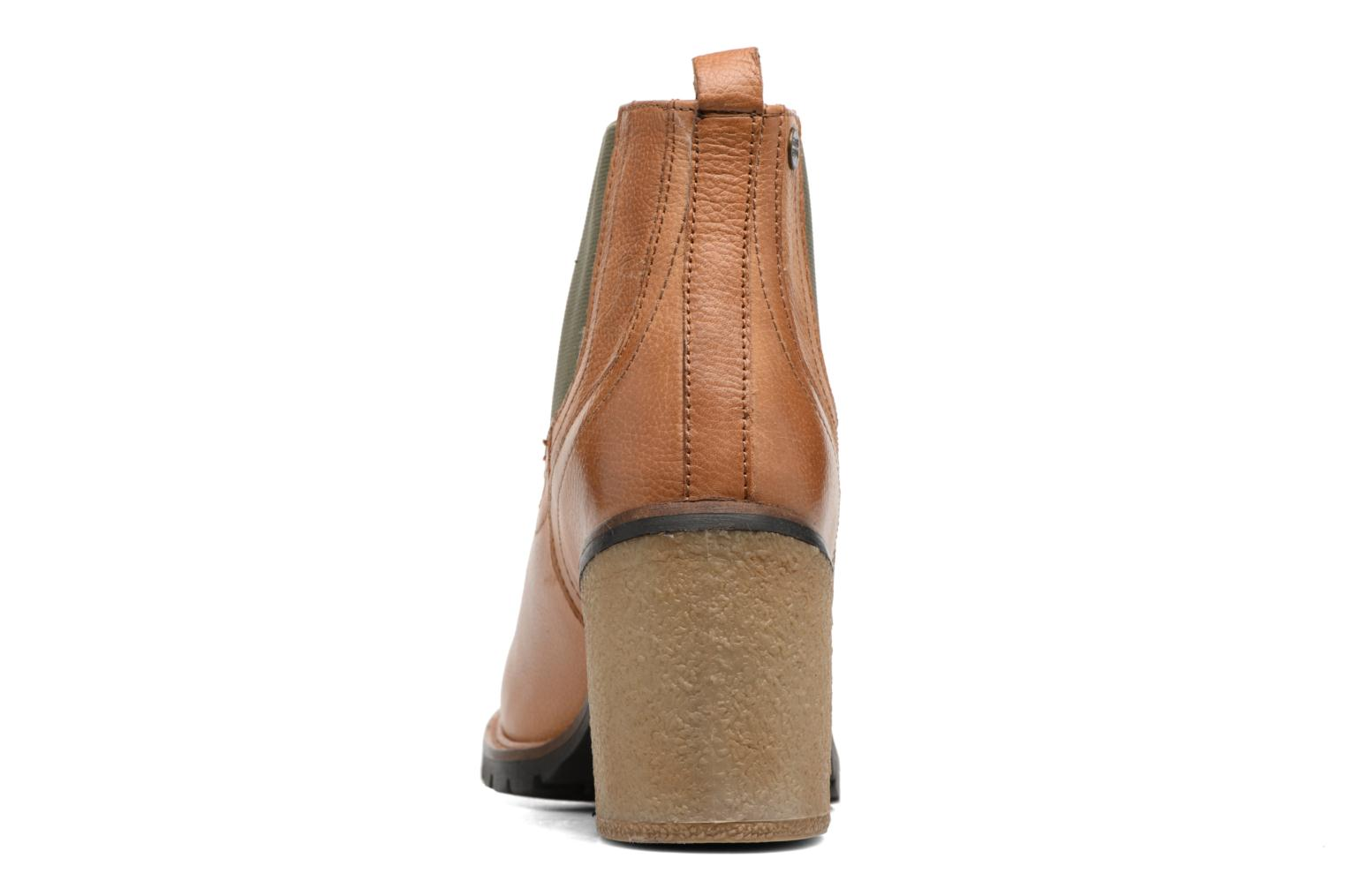 Ankle boots Gioseppo Izard Brown view from the right
