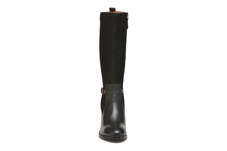 Bottes Gioseppo Kenner Noir vue portées chaussures