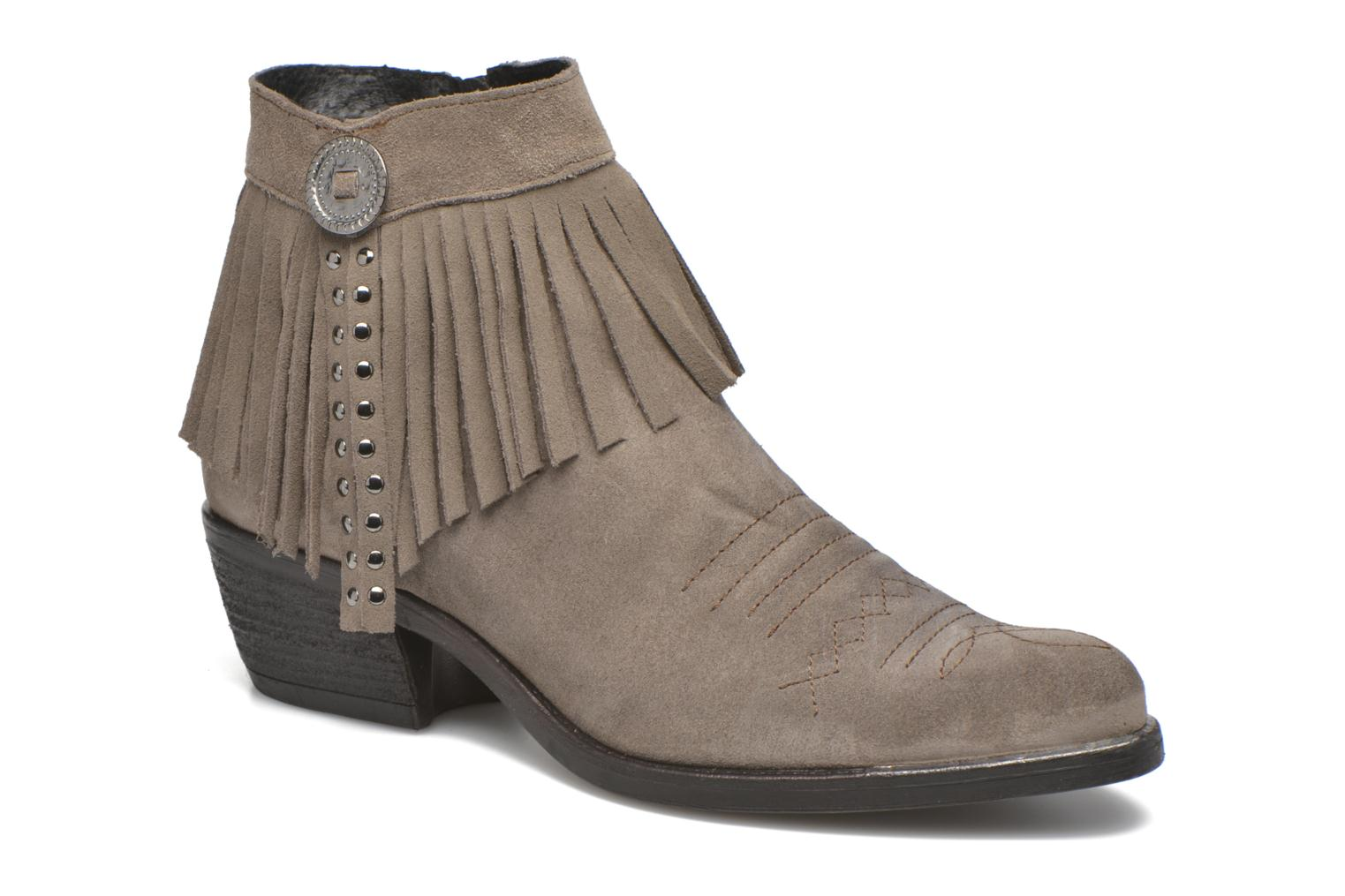 Ankle boots Khrio Samantha Grey detailed view/ Pair view