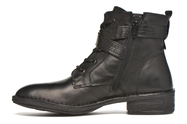 Bottines et boots Khrio Anna Noir vue face