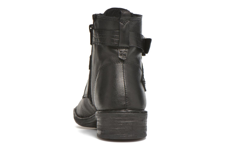 Bottines et boots Khrio Anna Noir vue droite
