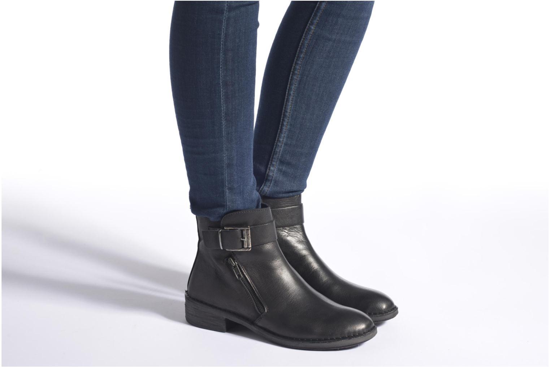 Bottines et boots Khrio Rita Noir vue bas / vue portée sac