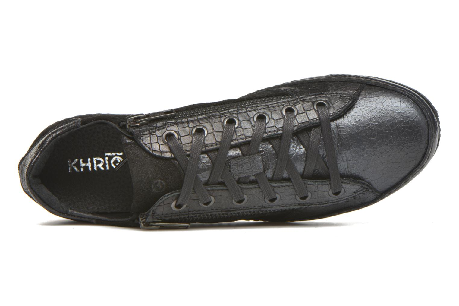 Trainers Khrio Paloma Black view from the left