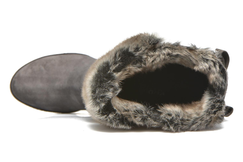 Camilia velours topo + tasso grigio