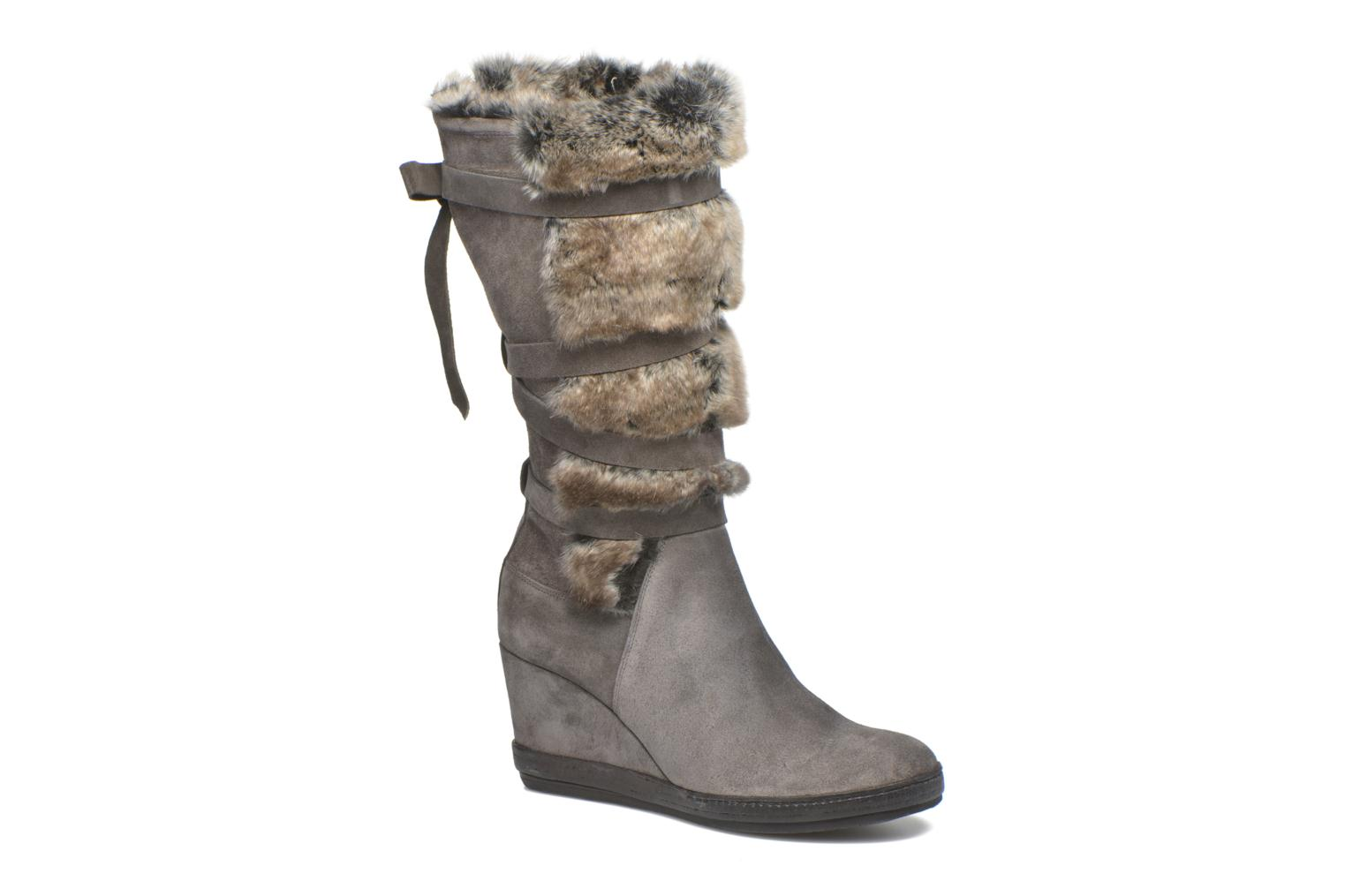 Boots & wellies Khrio Camilia Grey detailed view/ Pair view