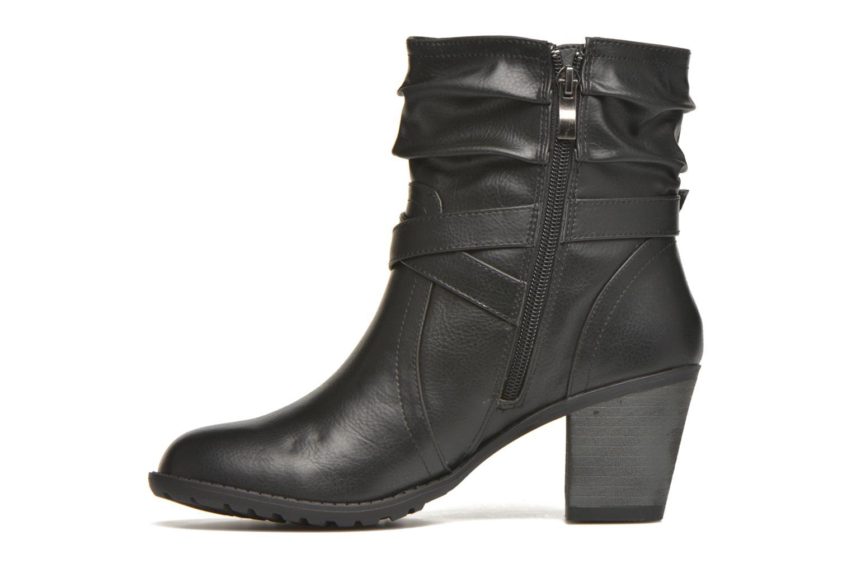 Bottines et boots MTNG Joplin Noir vue face