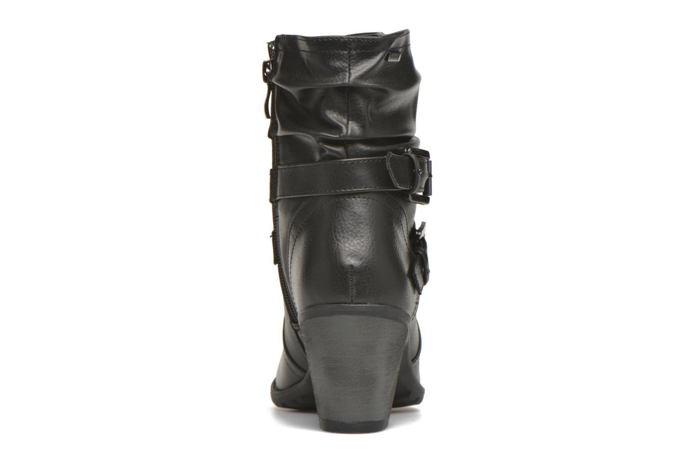 Bottines et boots MTNG Joplin Noir vue droite