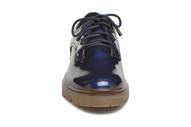 Chaussures à lacets MTNG Erik Bleu vue portées chaussures