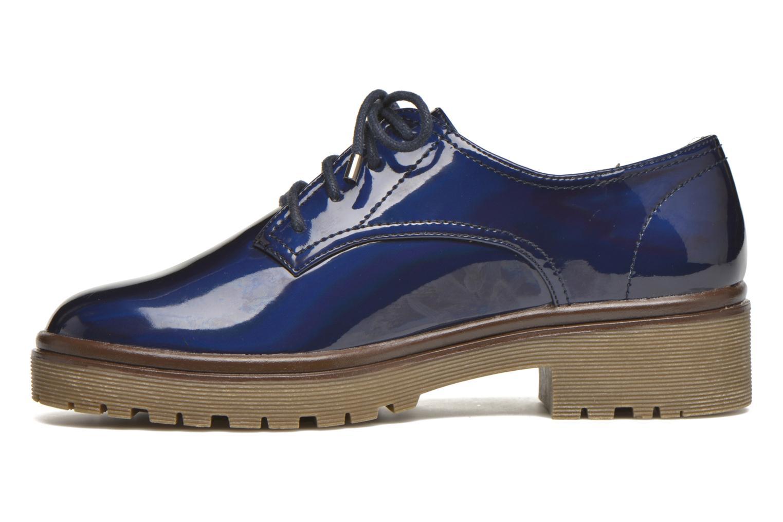Chaussures à lacets MTNG Erik Bleu vue face