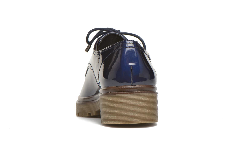 Chaussures à lacets MTNG Erik Bleu vue droite