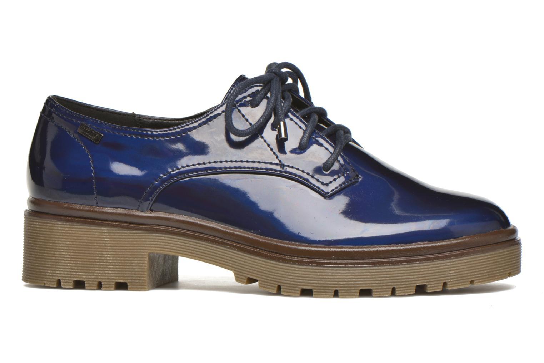 Chaussures à lacets MTNG Erik Bleu vue derrière