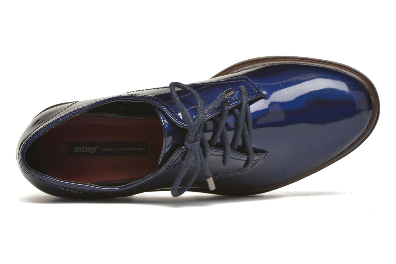 Chaussures à lacets MTNG Erik Bleu vue gauche
