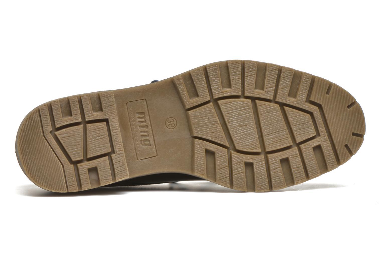 Chaussures à lacets MTNG Erik Bleu vue haut