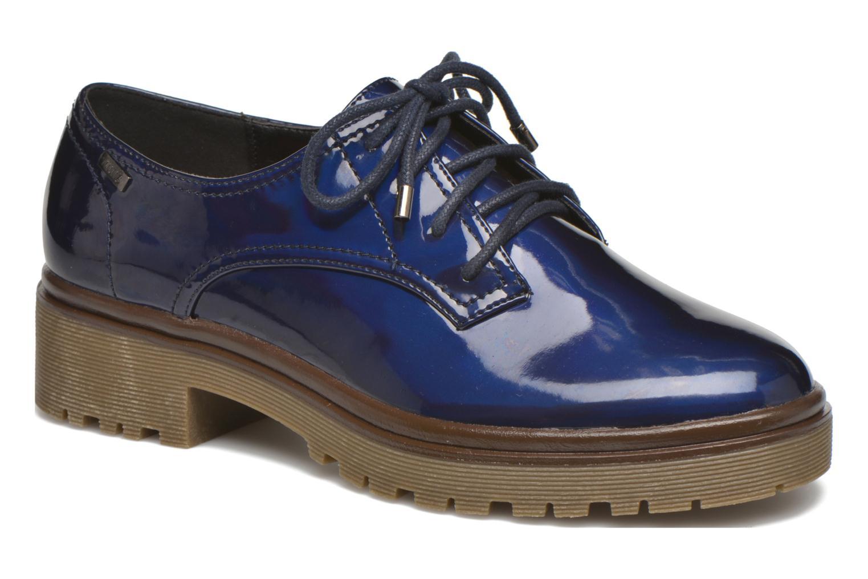Chaussures à lacets MTNG Erik Bleu vue détail/paire