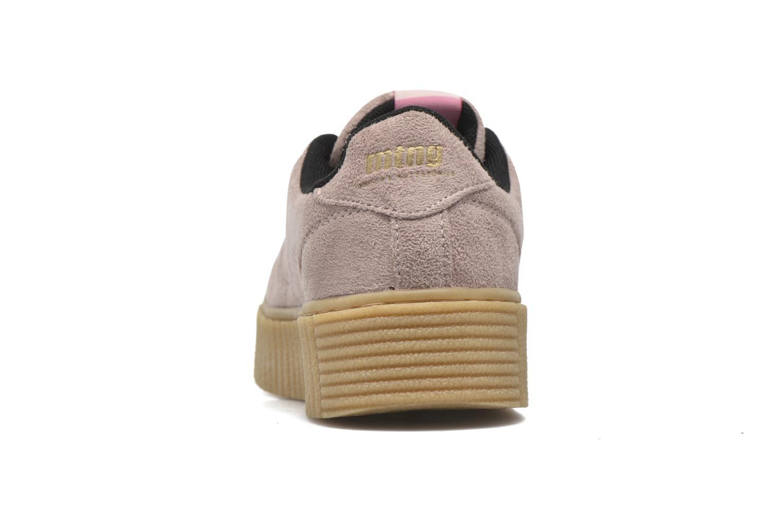 Baskets MTNG Crepa Marron vue droite