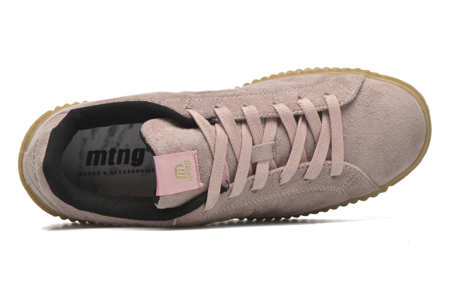 Sneakers MTNG Crepa Marrone immagine sinistra