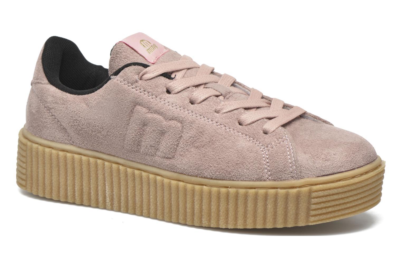 Baskets MTNG Crepa Marron vue détail/paire