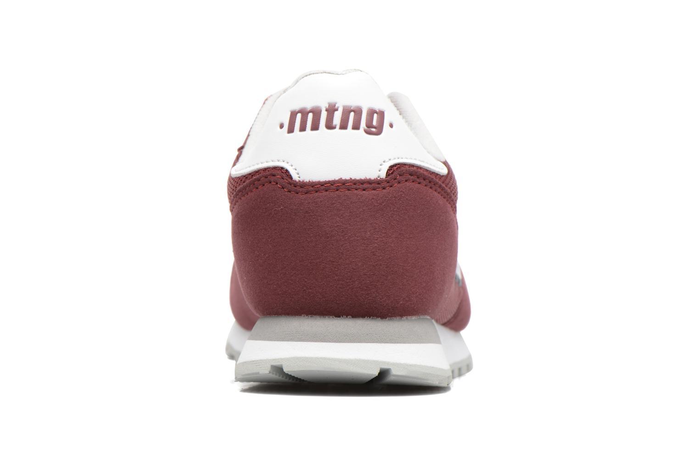 Sneaker MTNG Jakomo 83540 weinrot ansicht von rechts