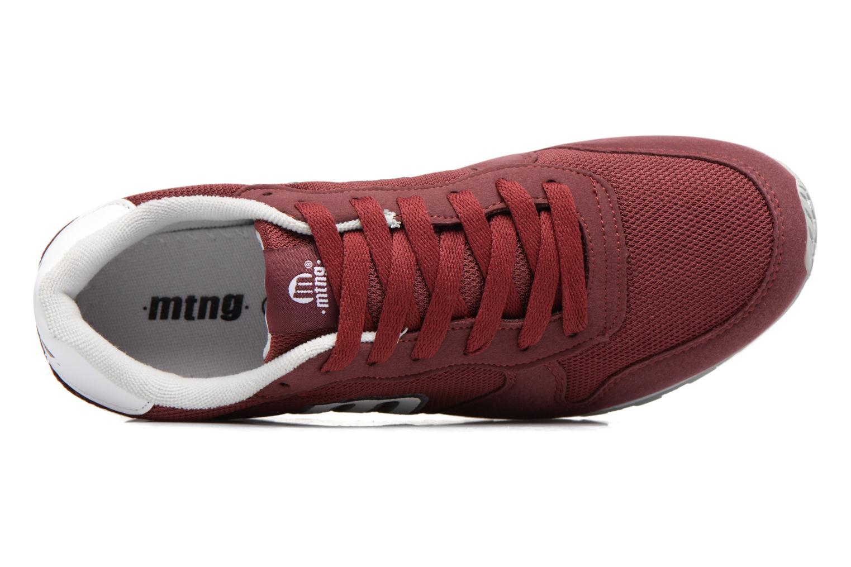 Sneaker MTNG Jakomo 83540 weinrot ansicht von links