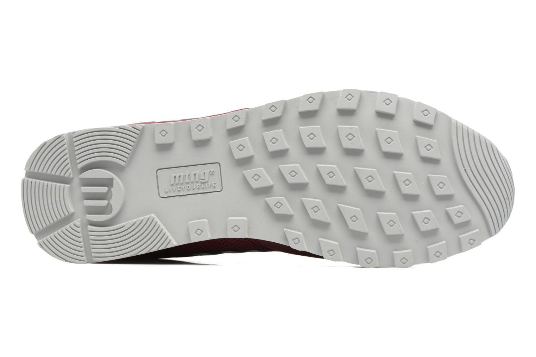 Sneaker MTNG Jakomo 83540 weinrot ansicht von oben