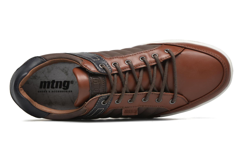 Sneaker MTNG Coat2 braun ansicht von links