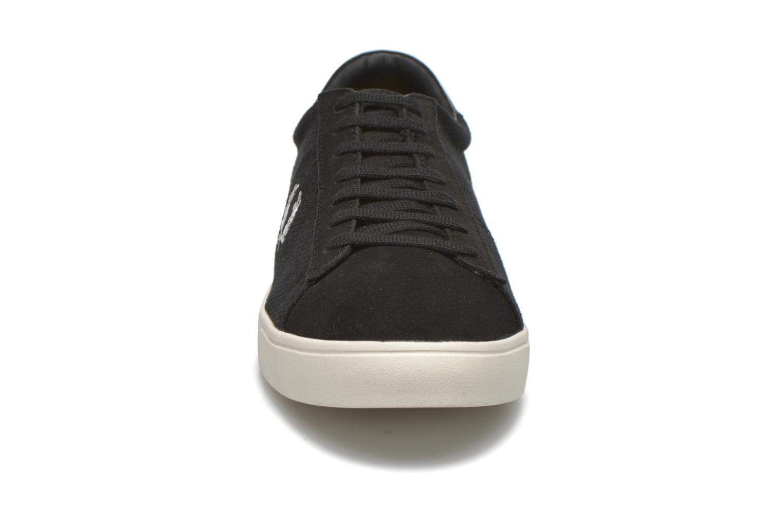 Sneakers Fred Perry Spencer Herringbone Zwart model