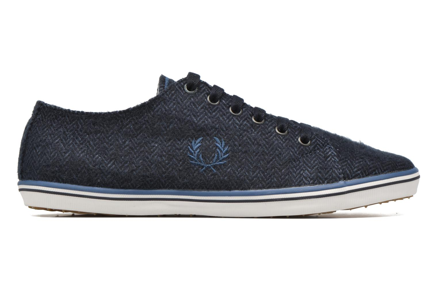 Baskets Fred Perry Kingston Tweed Bleu vue derrière