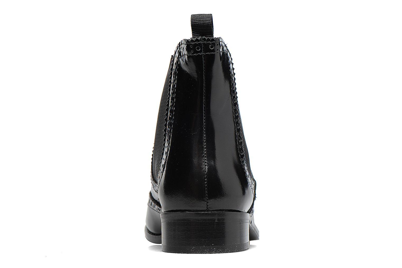 Bottines et boots Dune London Quentin Noir vue droite