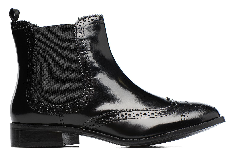Bottines et boots Dune London Quentin Noir vue derrière