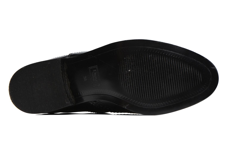 Bottines et boots Dune London Quentin Noir vue haut